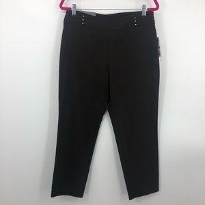 JM Collection Black Stretch Carpi Tummy Control